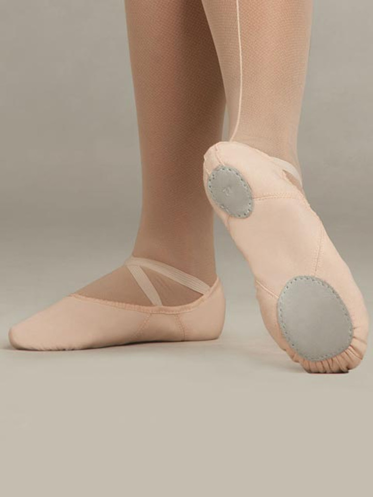 Canvas Split Sole Ballet Shoe Juliet CAPEZIO 2028C