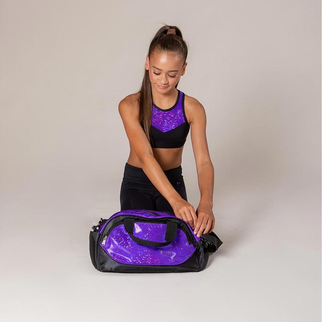 Energetiks Opal Glitter Bag Party Purple