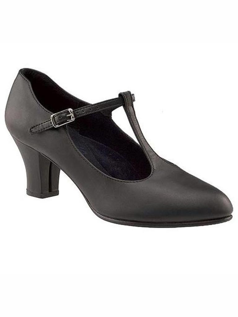 Capezio Jr. Footlight T-Strap Character Shoe Chorus Shoes ...