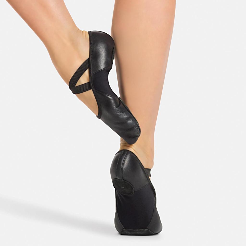 Capezio Hanami Leather Split Sole Ballet Shoe Adults