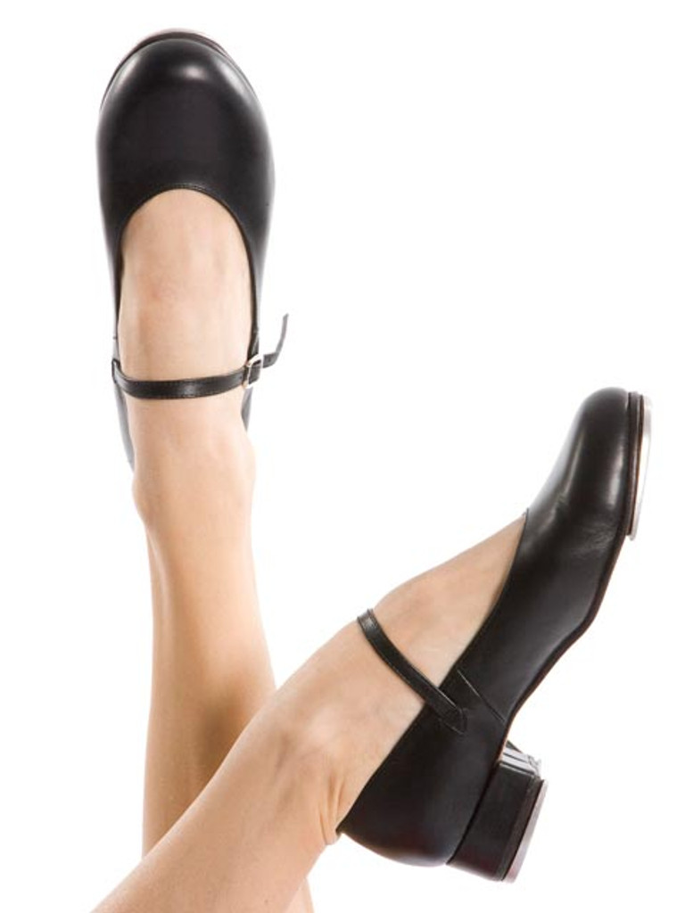 ENERGETIKS Debut Tap Shoes Girls TSA06 Black