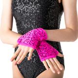 Studio 7 Dancewear Sequin Fingerless Gloves Childs