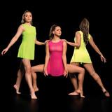 Studio 7 Dancewear Mesh Slip  Dance Dress Ladies