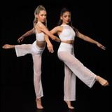 Studio 7 Dancewear Mesh Peformance Pants Adults