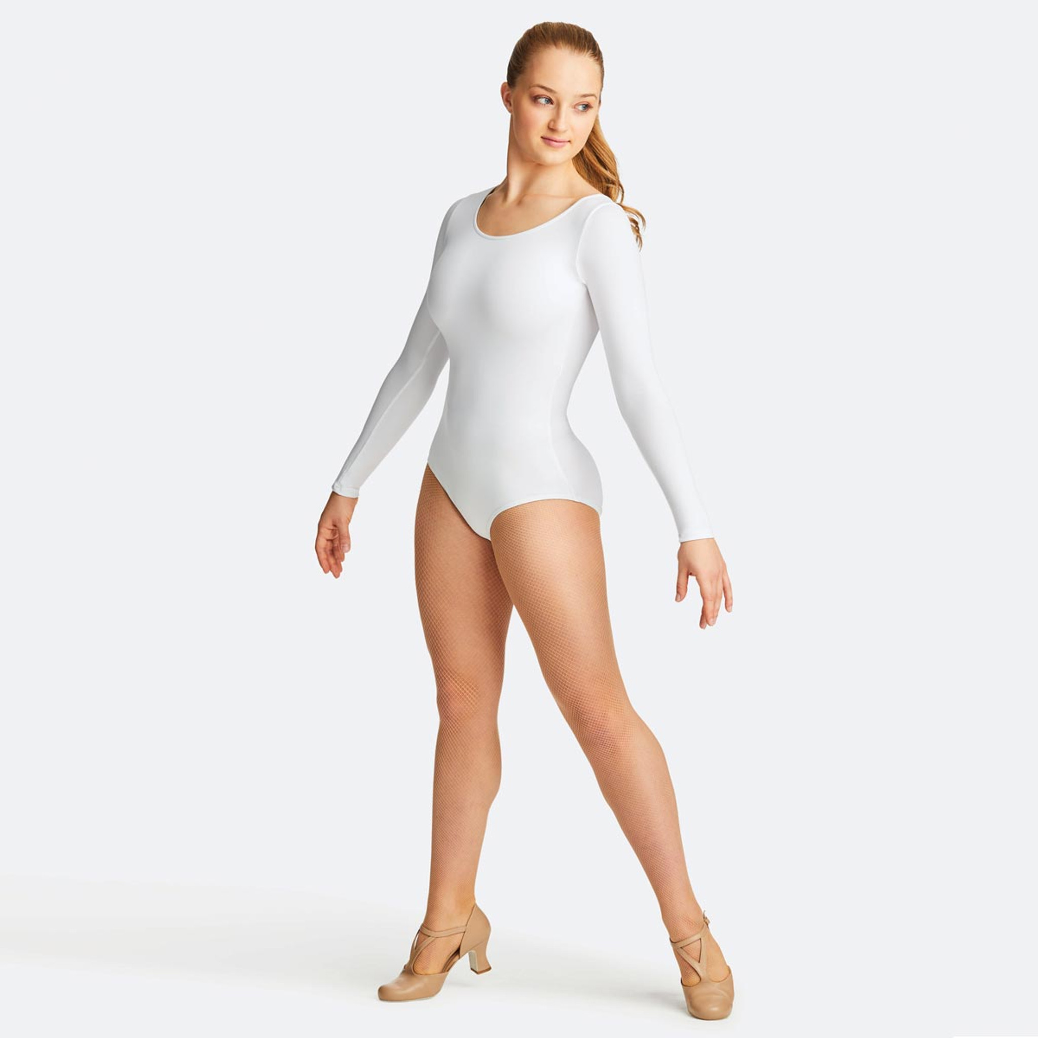 f59d76b1ef19 Capezio Long Sleeve Leotard - Ladies Dancewear - DANCE DIRECT®