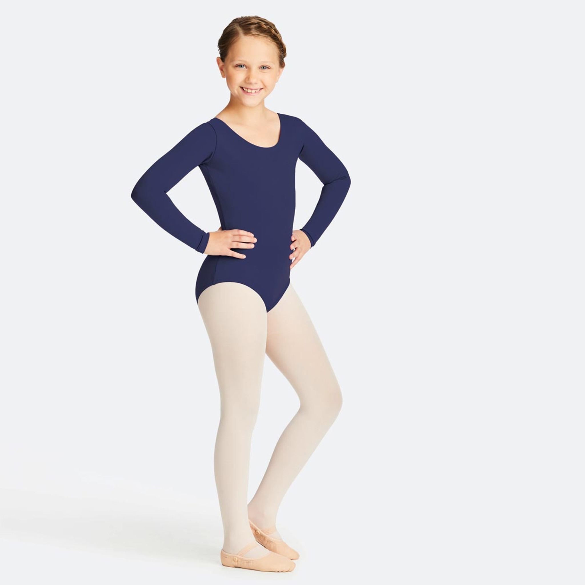 b5656df7d48f3 Capezio Long Sleeve Leotard - Children's Dancewear - DANCE DIRECT®