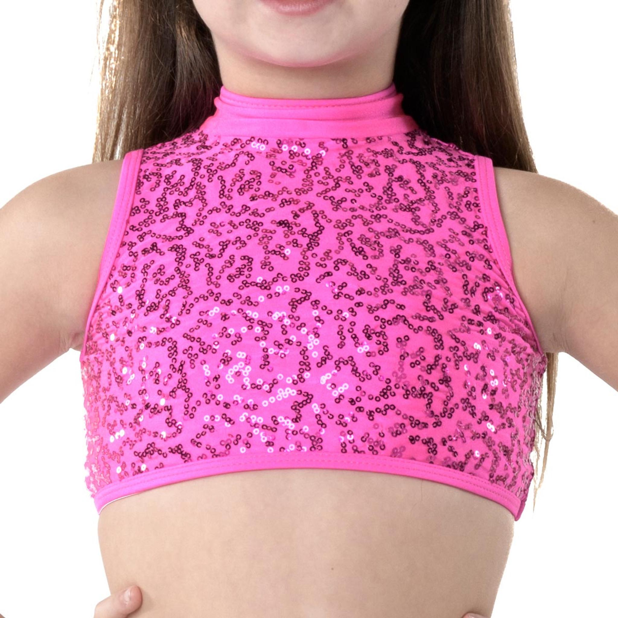 Studio 7 Dancewear Cabaret Crop Top - Girls Dance Tops