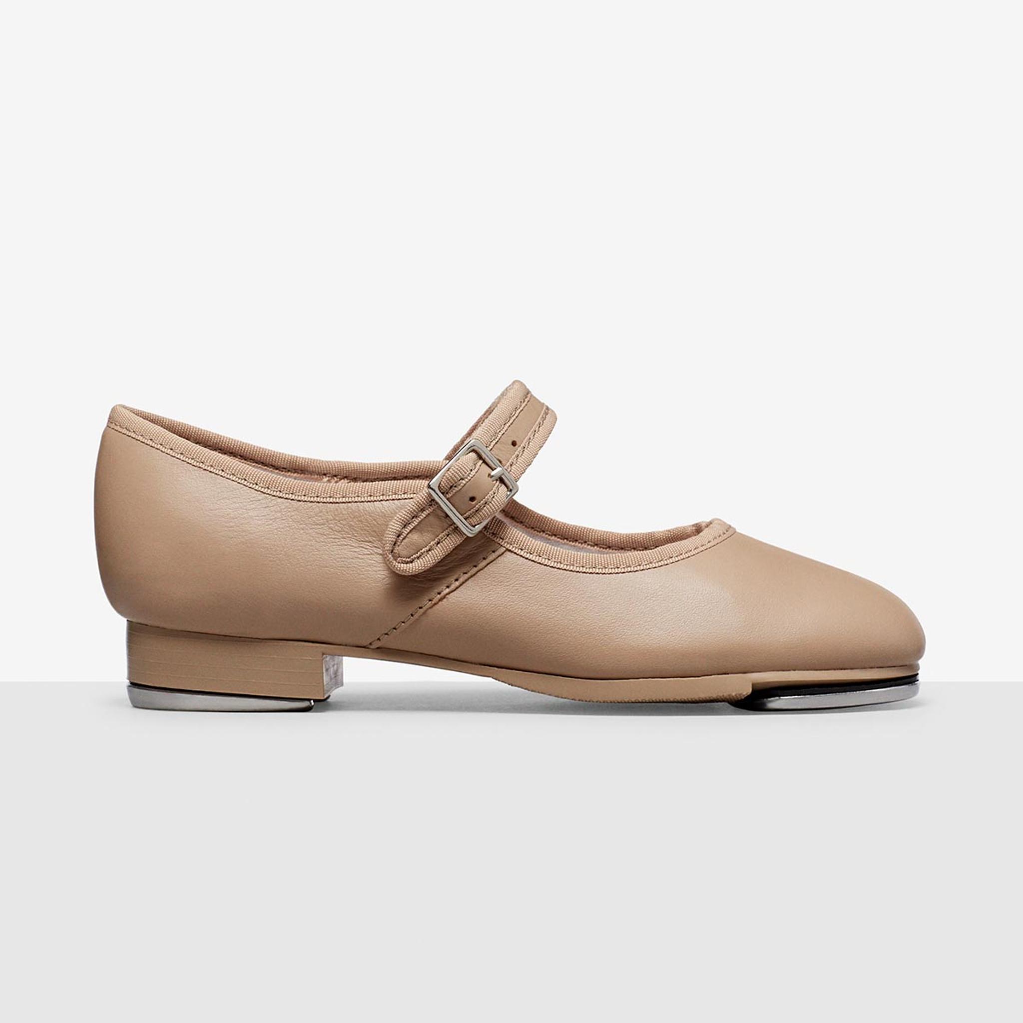Girls Womens Capezio Mary Jane Tap Shoe Style 3800 Tan Tap Shoe