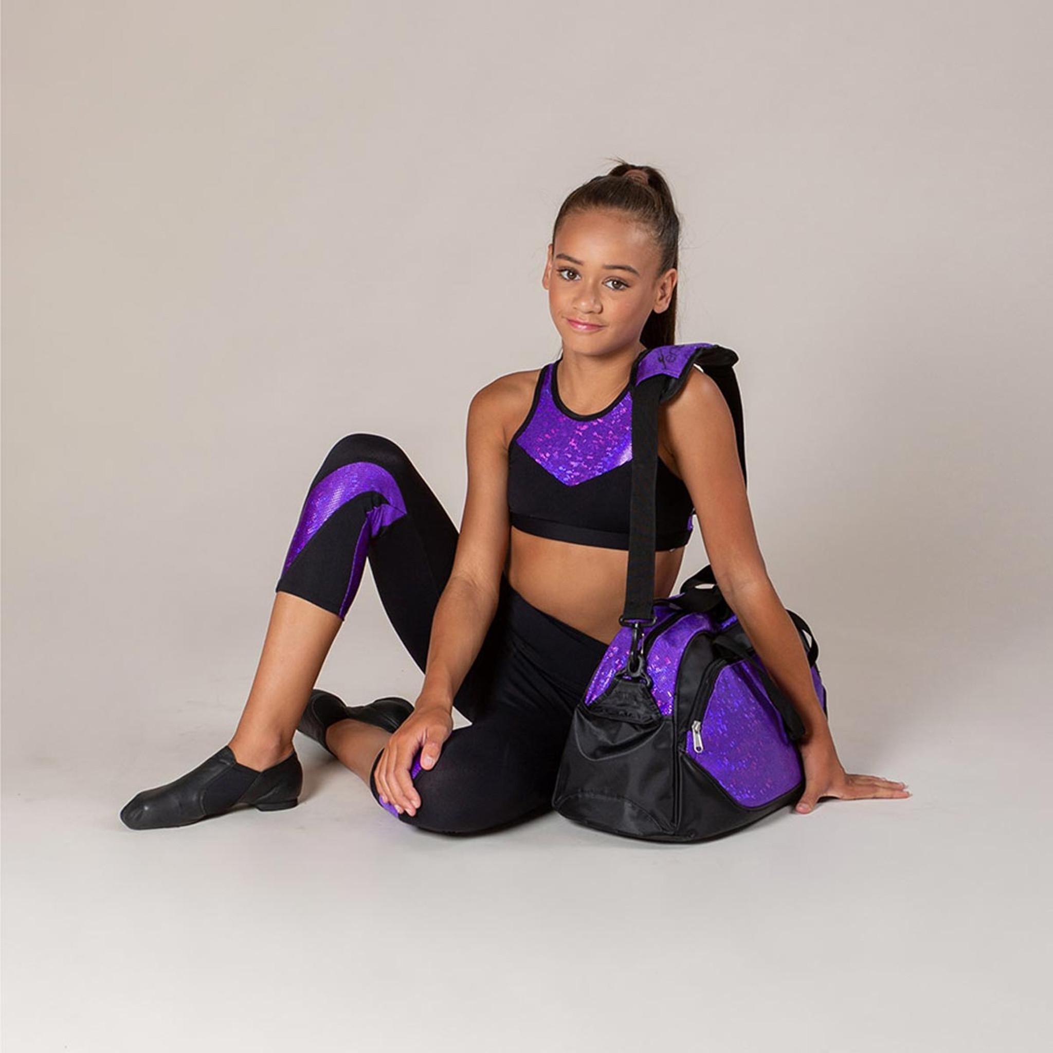 Energetiks Jewel Glitter Bag  Party Purple