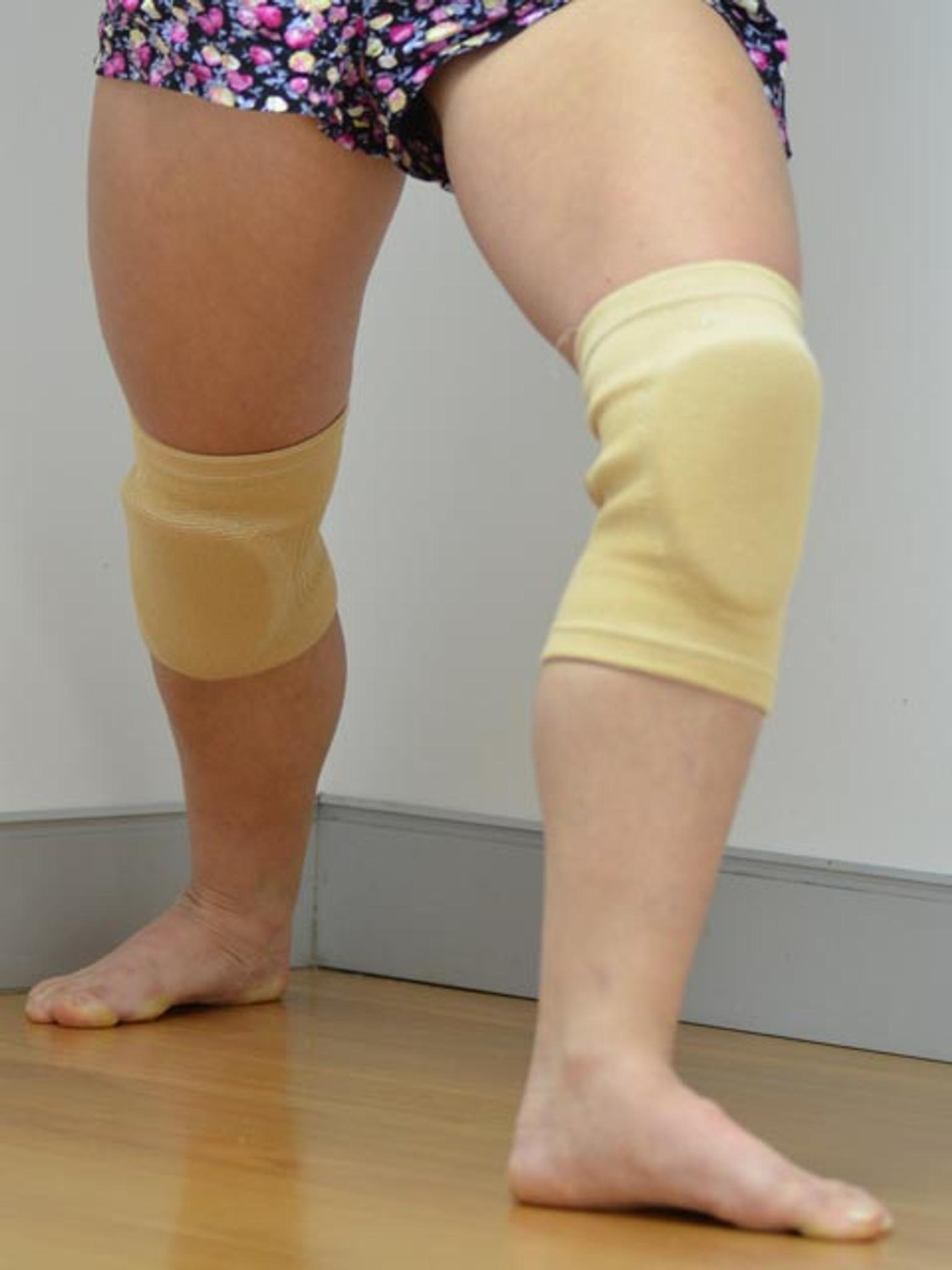 Flesh Knee Pads