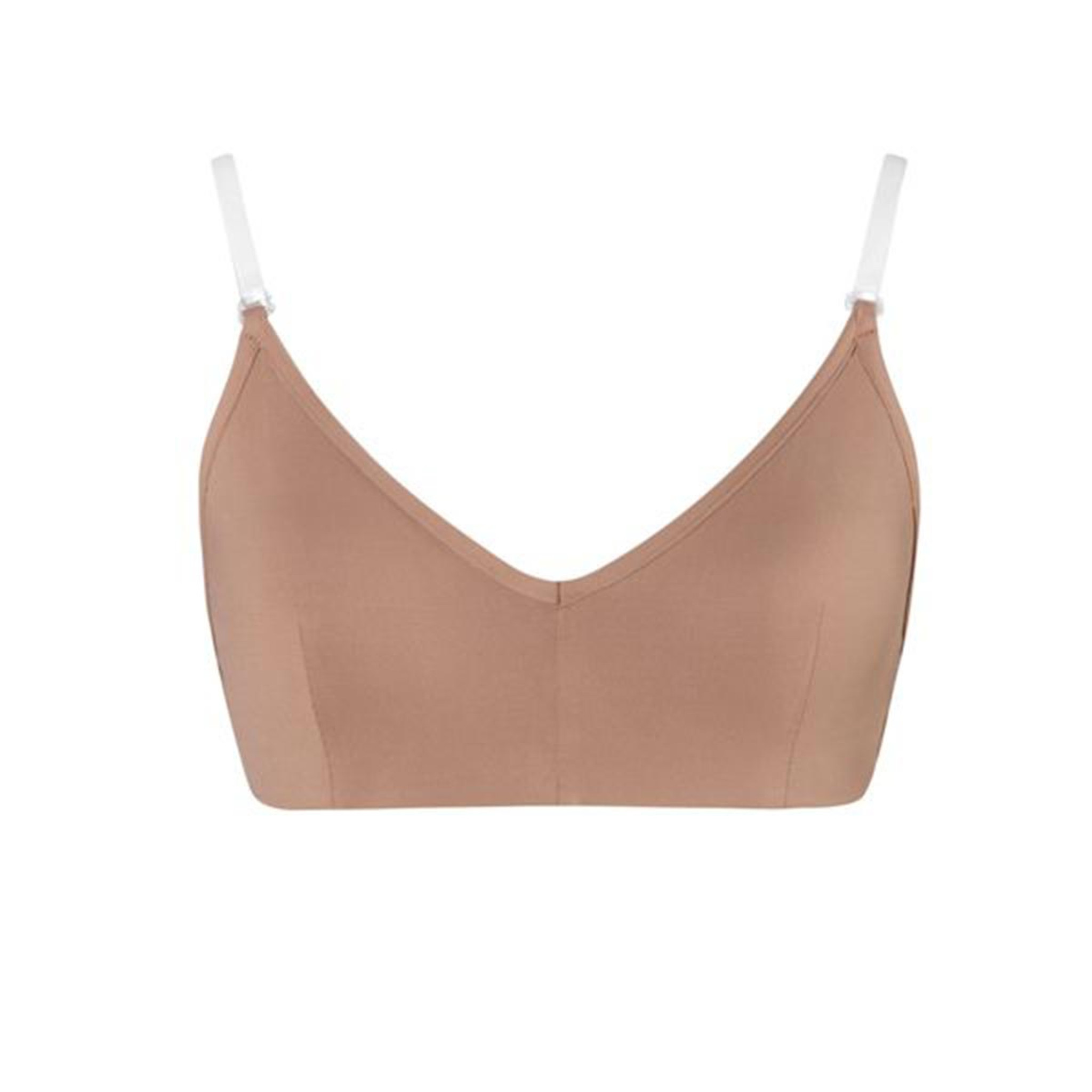 Energetiks Clear Back Bra With Cups Girls