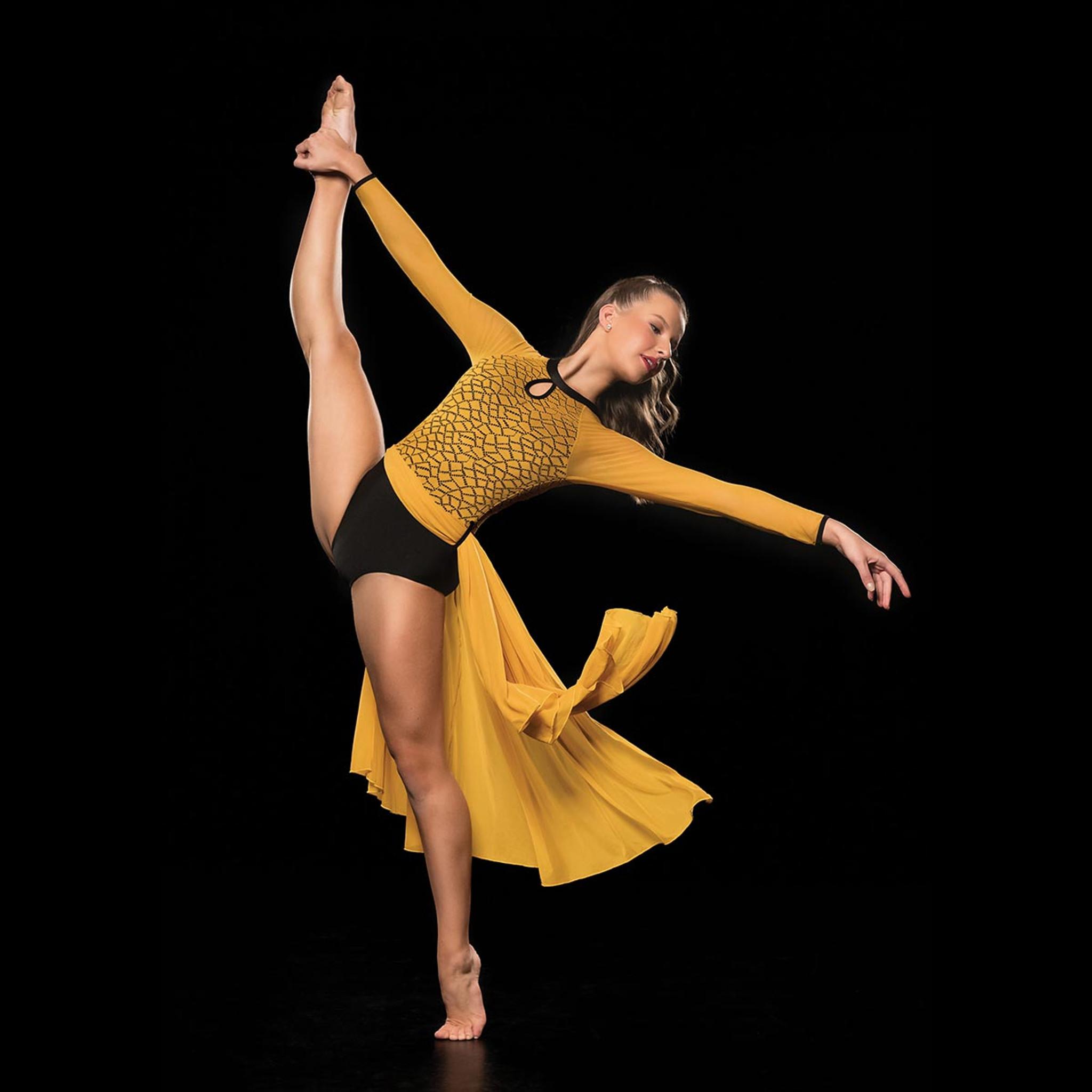 Studio 7 Dancewear Charlie Dress  Long Sleeve Adults