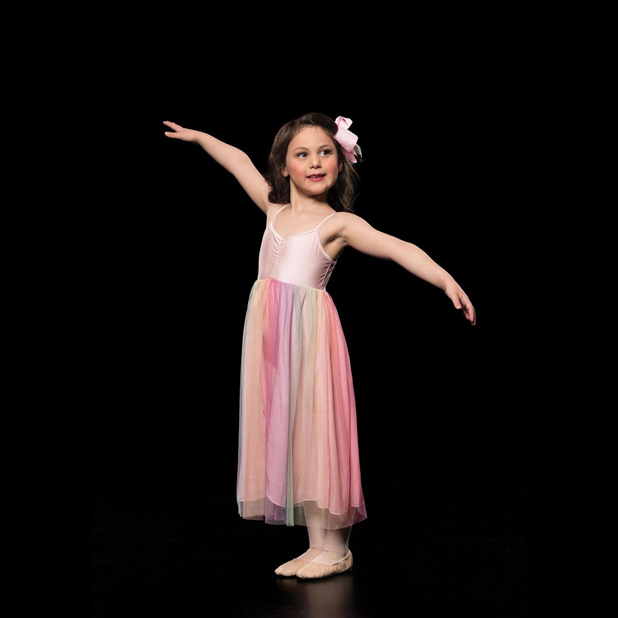 Studio 7 Dancewear Rainbow Lyrical Dress Girls