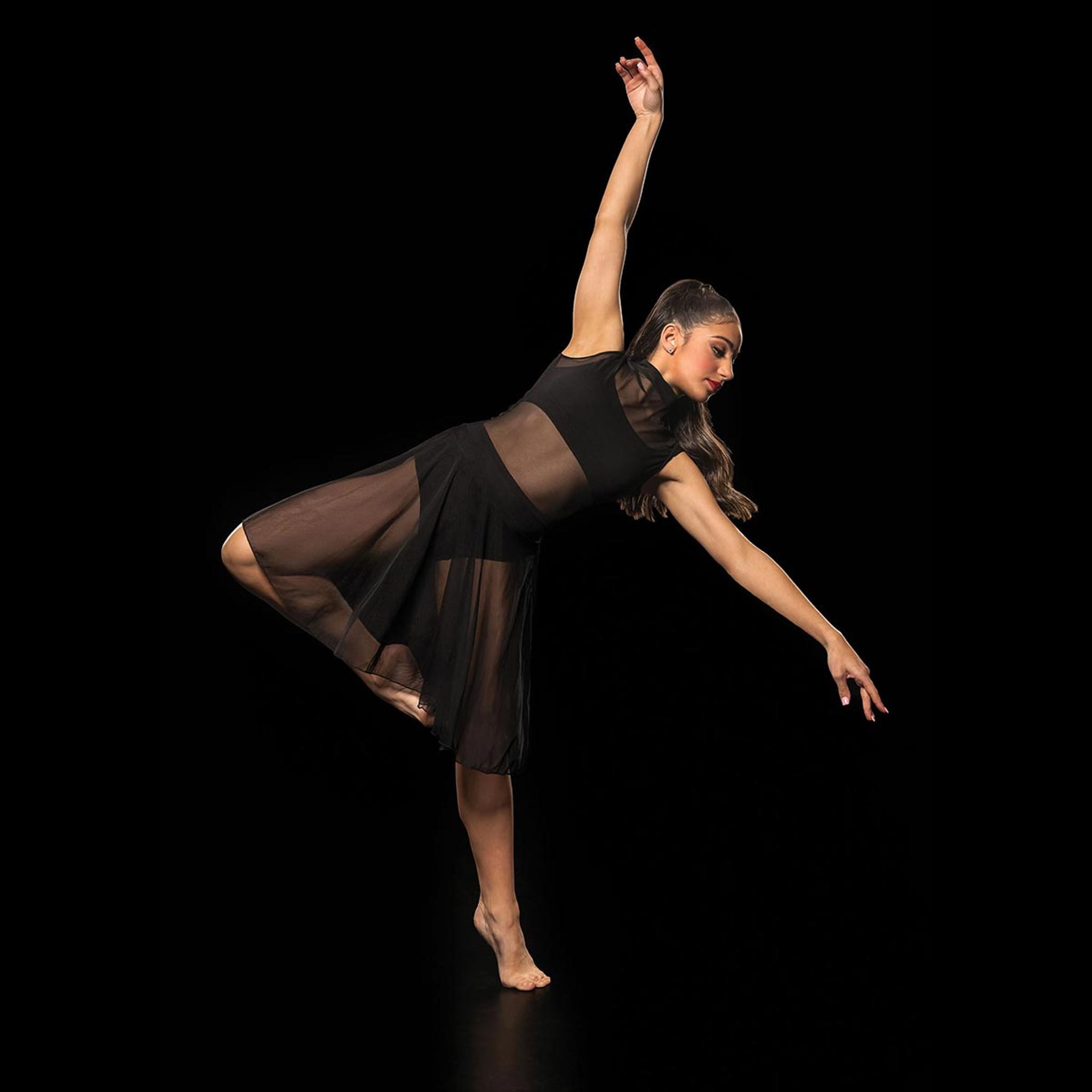 Studio 7 Dancewear Mesh Performance Dress Adults