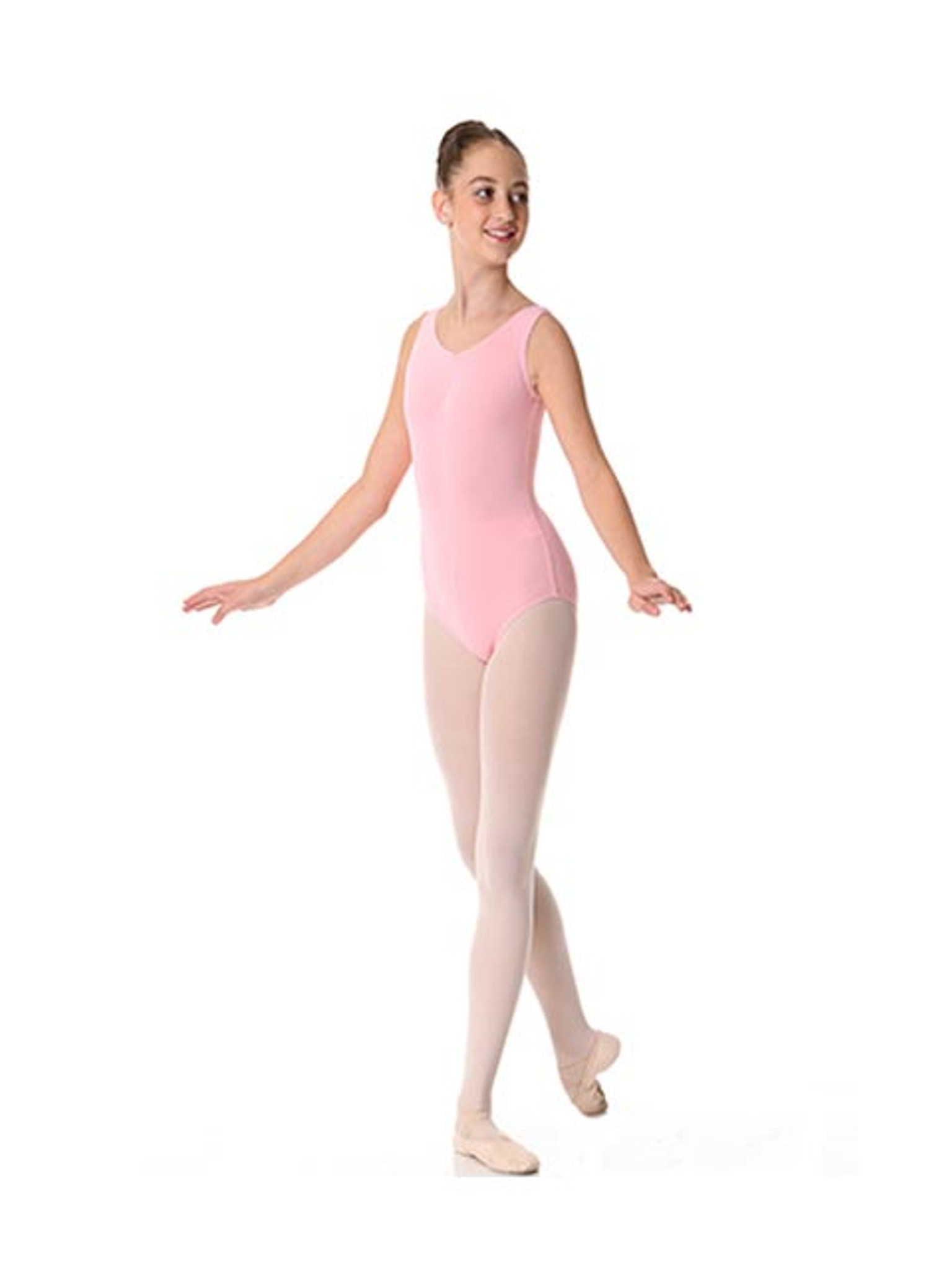 Thick Strap Leotard TCL01 Ballet Pink