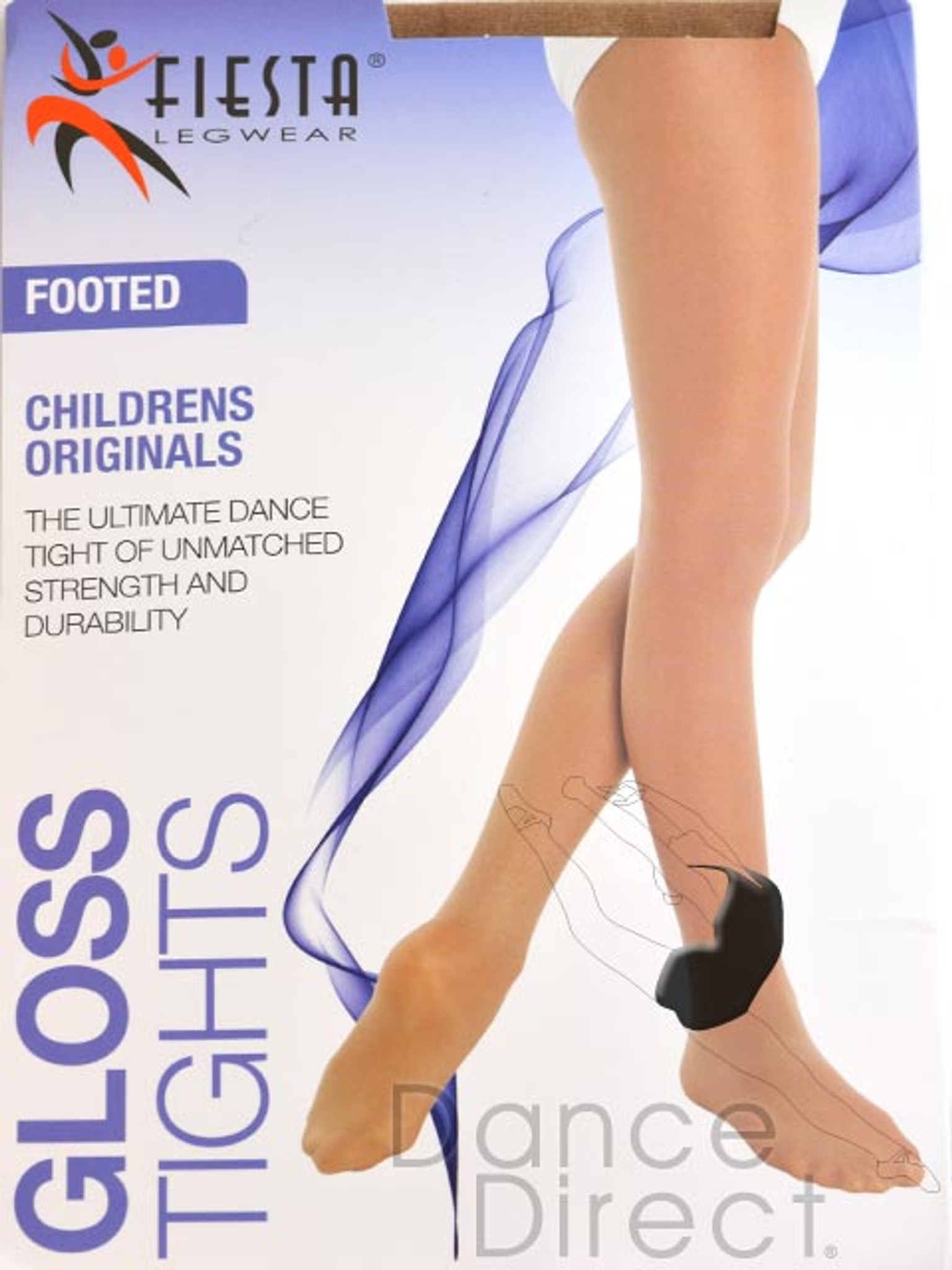Shimmer Fiesta Footed tights