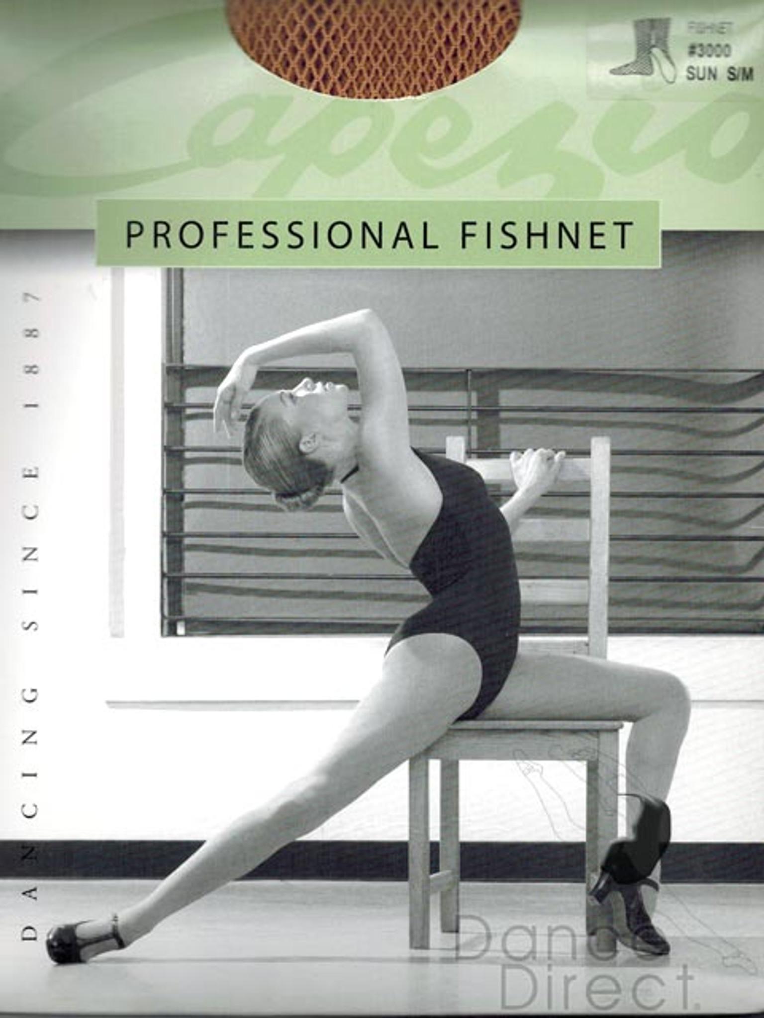 5e9585e2254a3 Capezio Fishnet Professional Heavy Weight Tights Ladies - DANCE DIRECT®