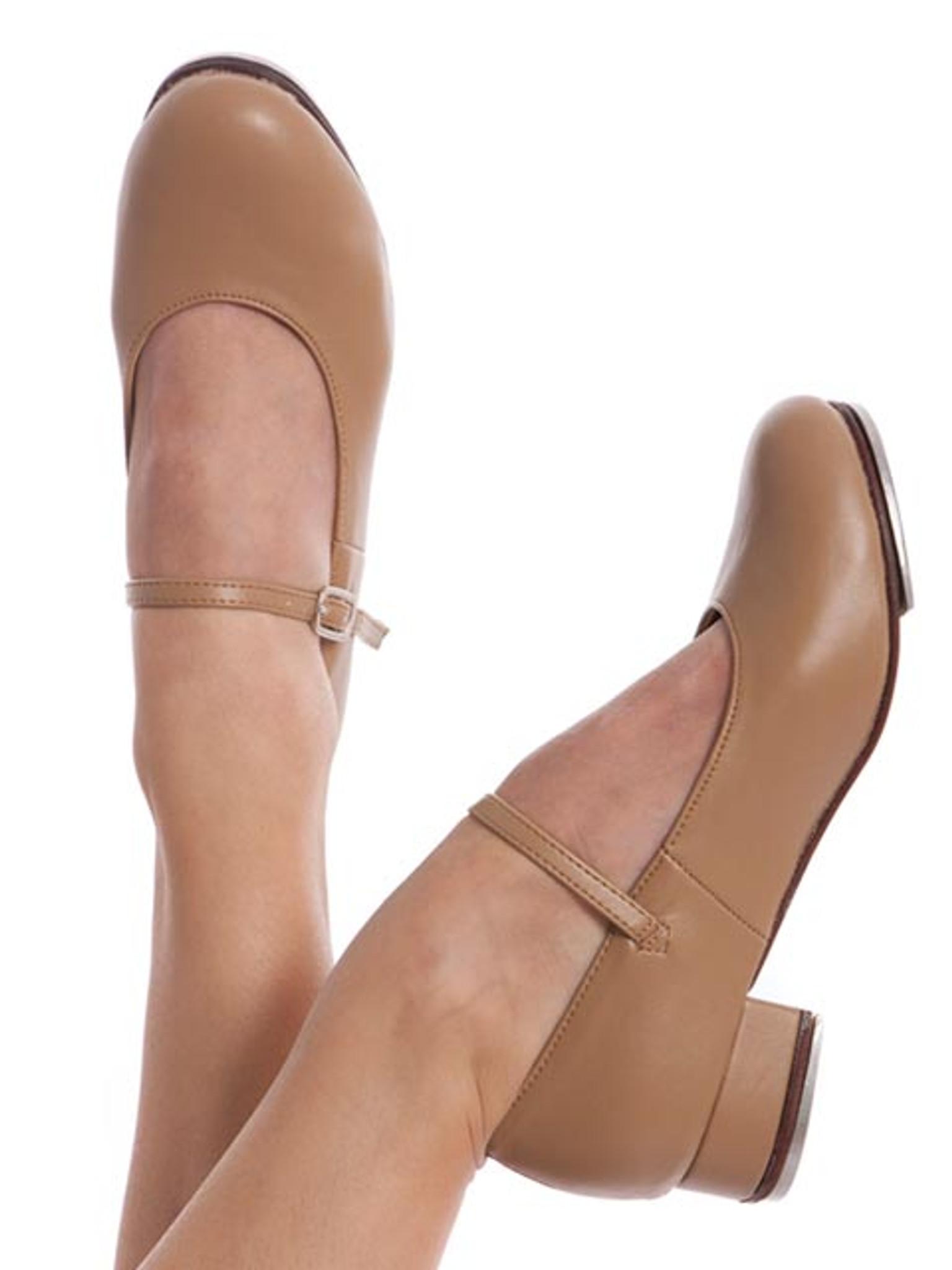 ENERGETIKS Debut Tap Shoes Girls TSA06 Tan