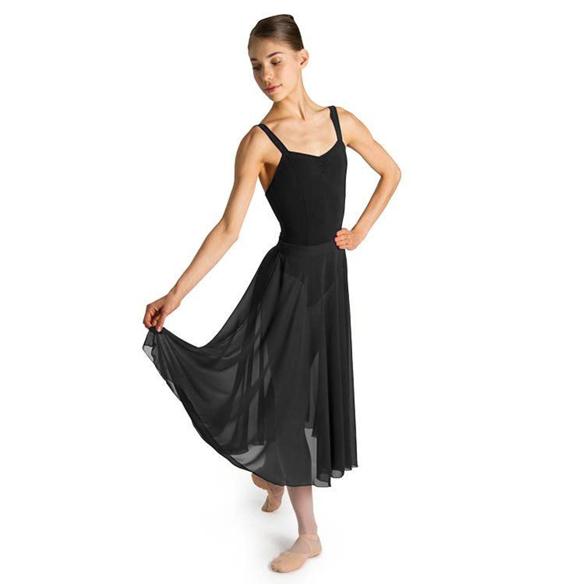 65d5081c8 Bloch Charlyn Full Circle Chiffon Women's Skirt - DANCE DIRECT®