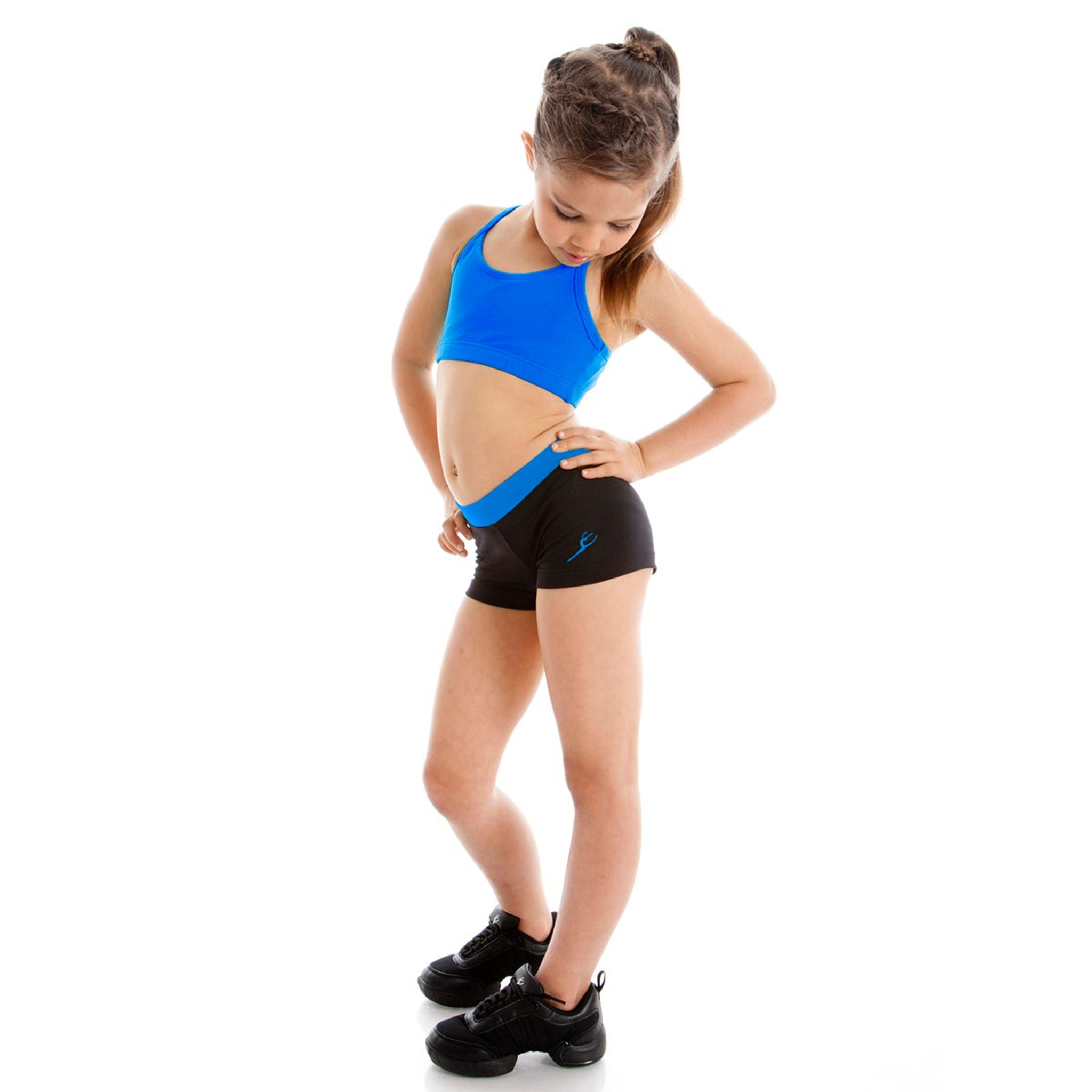 70e05ca83 Straight Band Dance Shorts - Girls Short-Energetiks Short