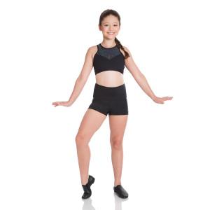 Energetiks Mia Boy Leg  Metallic Short Girls