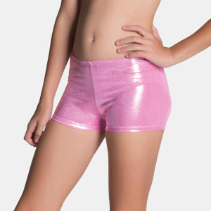 Sylvia P Mystique Gymnastics Shorts - Bubble Gum Pink