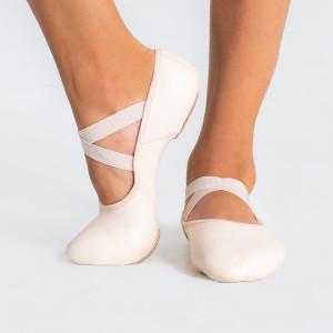 Capezio Hanami Leather Split Sole Ballet Shoe Girls
