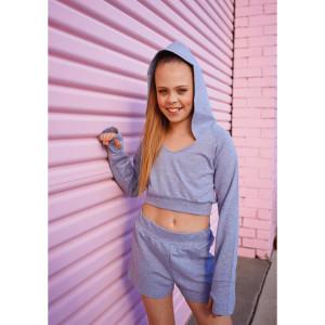 Studio 7 Dancewear Cropped Hoodie Girls