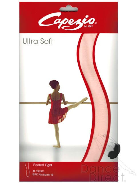 3d27db997 Capezio Ultra Soft Footed Tights - Transition Dance Tights