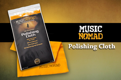 Music Nomad Flannel Polishing Cloth