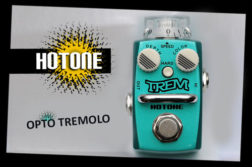 Hotone Skyline Series TREM Analog Tremolo Guitar Effects Pedal
