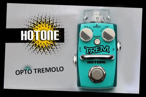 Hotone Skyline Series TREM Analog Tremolo Guitar Effects Pedal