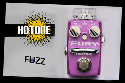 Hotone Skyline Series FURY  Compact Fuzz Guitar Effects Pedal