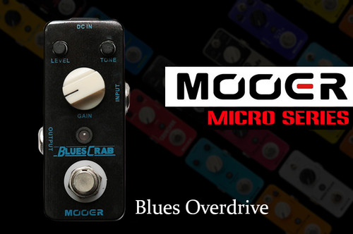 Mooer Blues Crab Compact Guitar Pedal
