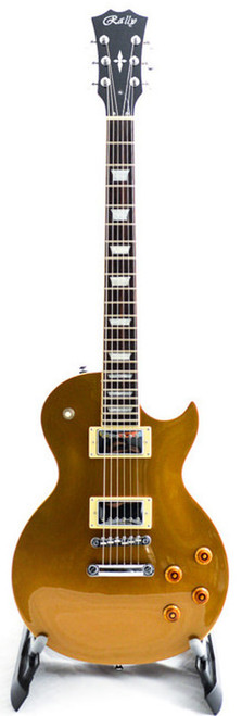 Rally GL-300 GT Plain Top GOLD Electric Guitar