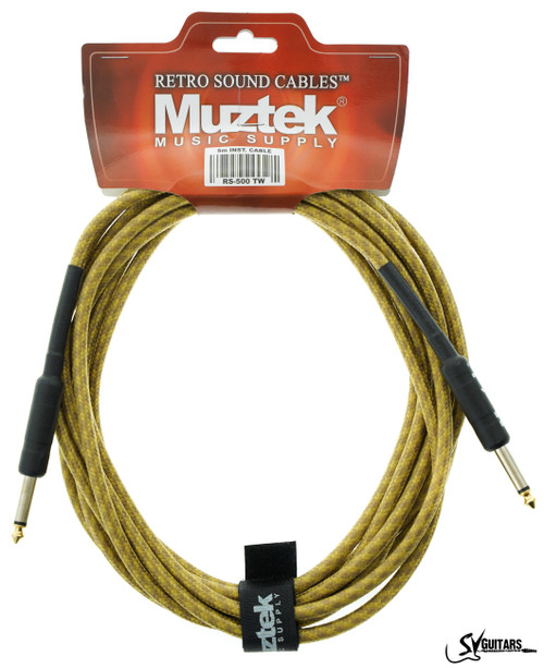 Muztek RS-500 TW 5M Guitar / Instrument Cable