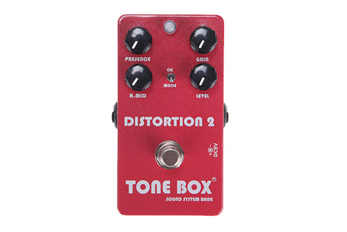 ToneTone Box by Swing Guitars - Distortion 2 Pedal