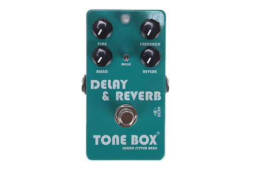 Tone Box by Swing Guitars - Delay & Reverb Pedal