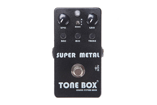 Tone Box by Swing Guitars - Super Metal Pedal