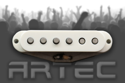 Artec VSP Vintage Single Plus Pickup Neck White