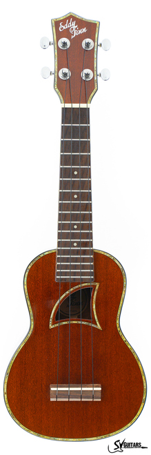 Eddy Finn EF-20-S Full Solid Soprano Ukulele