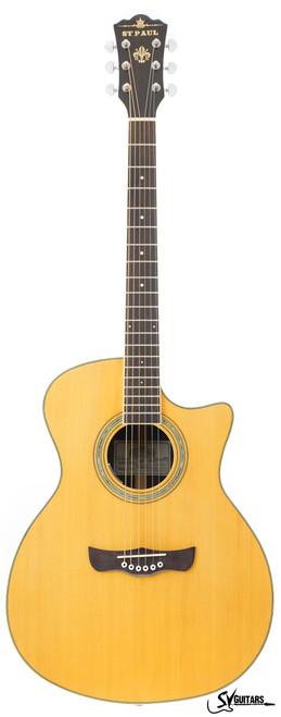 ST Paul SF-26C EQ Orchestra Model Acoustic Guitar