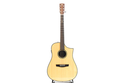 Hex D350CE G NATURAL Acoustic Guitar w/Fishman Isys+