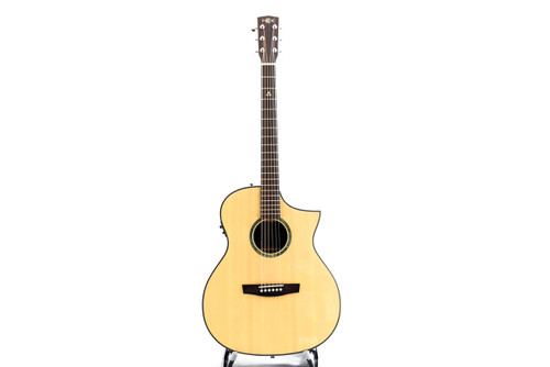 Hex F350CE G NATURAL Acoustic Guitar w/Fishman Isys+