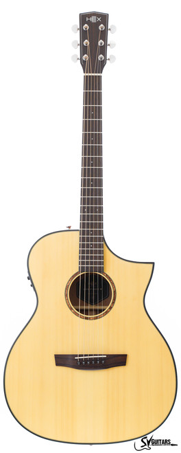Hex F100CE M NATURAL Acoustic Guitar w/Fishman Isys+