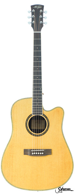 M.Tyler STA-D40C N NATURAL Acoustic Guitar