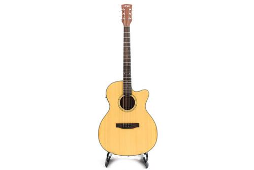 M.Tyler MTT-OM100C Acoustic Guitar w/Fishman Isys+
