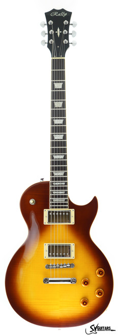 Rally GL-300 HB Flame Top HONEYBURST Electric Guitar