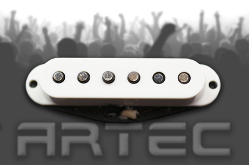 Artec VS60 Vintage Single Pickup Mid White