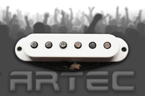 Artec VS60 Vintage Single Pickup Bridge White